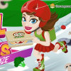 Girl on Skates Pizza Mania