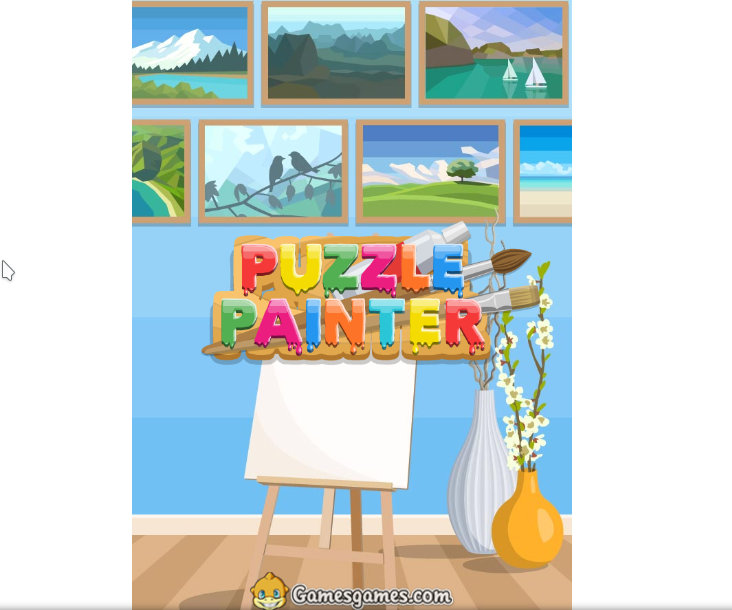 Puzzle Painter HTML5 game