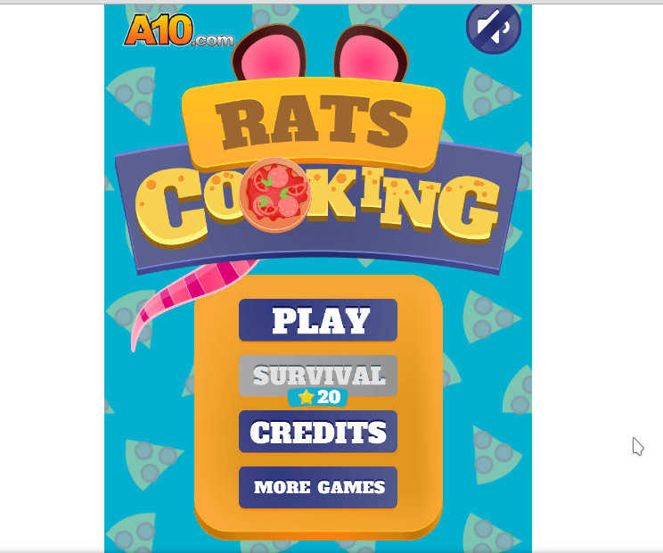 Rats Cooking HTML5 game