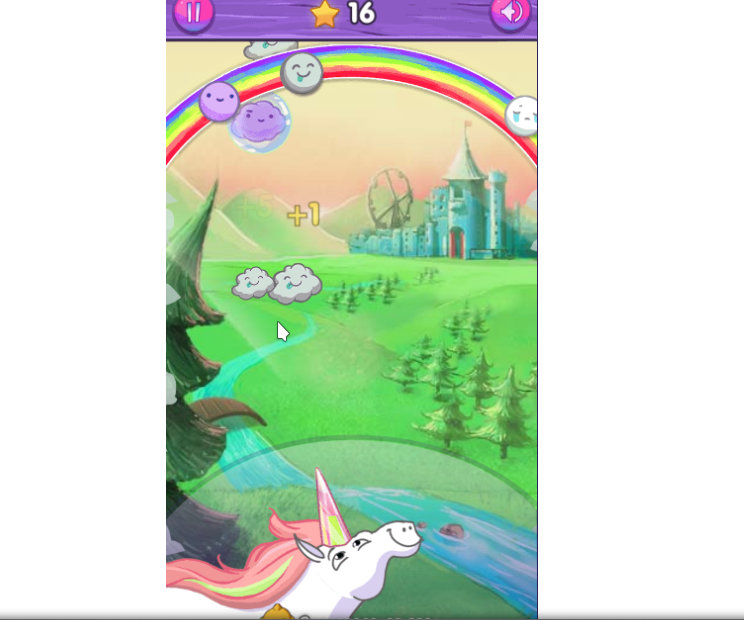 Unihorn HTML5 game