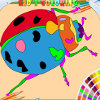 Beetle coloring html5