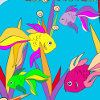 Sea fishes coloring html5