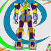 Super robot coloring html5