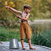 Little boy fishing Jigsaw