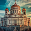 Cathedral of christ the savior  Russia Jigsaw