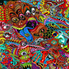 Colorful drawing Jigsaw